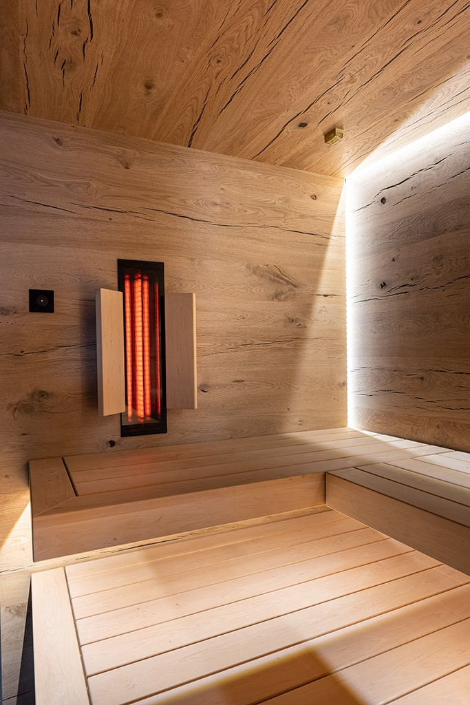 Altholz Sauna Ambiente